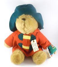 Paddington Bear With Holiday Christmas Ornament Sears 17 inch Plush 89413
