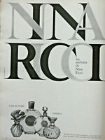 PUBLICITÉ DE PRESSE 1967 LES PARFUMS DE NINA RICCI L'AIR DU TEMPS CAPRICCI