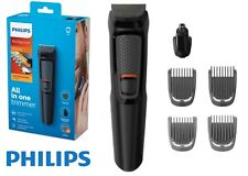 PHILIPS MEN HAIR TRIMMER CORDLESS GROOMING CUTTER CUTTING SET SHAVER BEARD NOSE