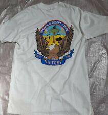 Vintage 1990-91 Operation Desert Storm Short Sleeve T-Shirt Size Xl