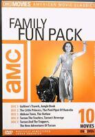 AMC Family Fun Pack (DVD, 2005), New, 10 Movie Classics Boxset