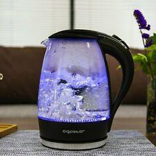 Aigostar Adam 30GOM - Bouilloire électrique en cristal avec illumination LED