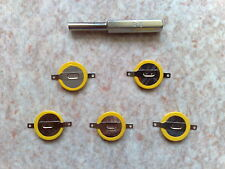 5 batteries spare CR1616 + gamebit-Pokemon Red, Ruby - Game Boy - records
