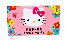 Hello Kitty Pop Up Sticky Notes Flower Butterfly Mushroom Variety Pack Sanrio