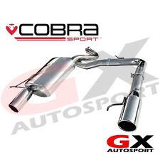 Bm64 Cobra Sport BMW 3 SERIES 318d 320d E91 Estate 07-11 DUAL USCITA SCARICO POSTERIORE
