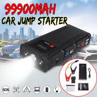 99900mAh Car Jump Starter Pack AU Plug Vehicle Charger Power Bank Battery  * *