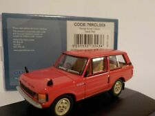 RANGE ROVER CLASSIC - RED, Oxford Diecast 1/76 New Release