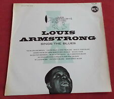 ARMSTRONG LP ORIG FR 60'S  SINGS THE BLUES