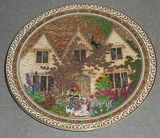"Royal Worcester COUNTRY COTTAGES PATTERN 8"" Plate by Sue Scullard ENGLAND"