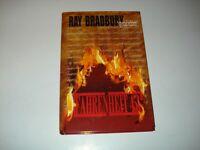 Signed Ray Bradbury Fahrenheit 451 Gauntlet Press Bookplate Long Beach Pub Lib