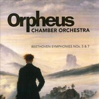 NEW Beethoven: Symphonies Nos. 5 & 7; Orpheus Chamber Orchestra 2014 CD, Carnegi