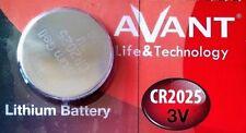 Pila AVANT CR2025 - Lithium Battery 3V - Alta Calidad - Boton Litio
