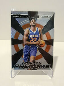 2018-19 Deandre Ayton Phoenix Suns Panini Prizm Freshman Phenoms RC #25 NM