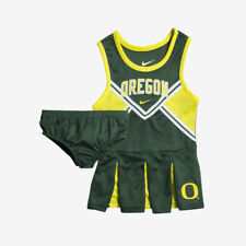 Oregon Ducks Nike Youth Girls Cheerleader Set Green Top (Multiple Sizes)