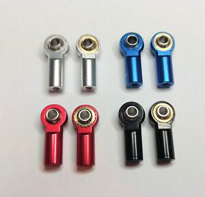 Kugelkopf Kugelgelenk Aluminium M3/3mm RC-Modelbau verschiedene Farben