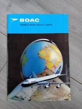 More details for boac world-wide route maps 1971