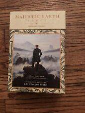 Majestic Earth Tarot by J.D. Hildegard Hinkel OOP Rare HTF