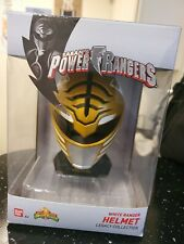 Power Rangers Legacy Mighty Morphin White Ranger Mini Helmet Display Set