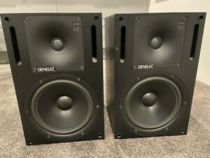 2x Genelec 1031A Active Studio Monitor Bi-Amplified Nearfield 2-Way Speakers #2