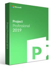 Microsoft Project 2019 Professional Key LIMITED STOCK