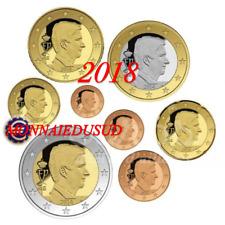 Série 1 Cent à 2 Euro BU Belgique 2018 - Brillant Universel