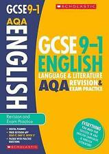 English Language and Literature Revision and Exam Practice Book for AQA (GCSE Gr