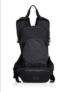 NWT Y-3 Yohji Yamamoto Adidas CH1 Reflective Backpack Detachable Black