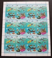 USA 1994 Marine Life 4v x6 Sets total 24v on Stamps Sheetlet / Full Pane Mint NH