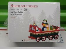 Department 56 North Pole Series - Northern Lights Ornament Car - 4036548