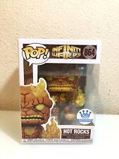 Funko Pop! Marvel Infinity Warps Hot Rocks #864 SHOP Exclusive Fast Shipping!