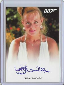 James Bond Lizzie Warville Autograph Card - For Your Eyes Only Rittenhouse