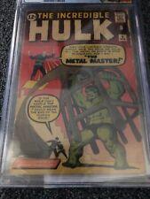 Incredible Hulk #6 CGC 3.0 1st App Metal Master