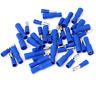 100pc Bleu Assorti Balle Mégot Connecteur Pince Isolée Câble Terminals 4MM