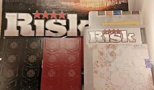 Risk The Game Strategic Conquest Parker Brothers **Field Guide & Mission Cards**