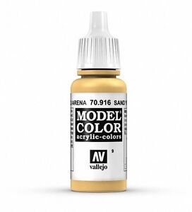 Vallejo MODEL COLOR 70.916 - SAND YELLOW