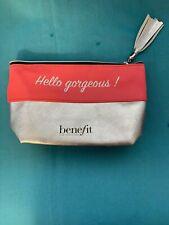 BENEFIT Hello Gorgeous! Make-up Cosmetics Bag. BN - 100% Genuine