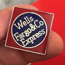 WELLS FARGO & CO EXPRESS Pin ~ FREE SHIPPING!    nj