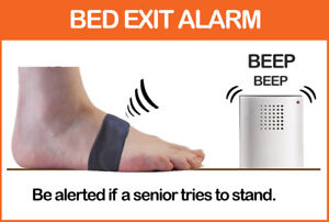 Smart Bed chair exit alarm   Fall Prevention & Wandering Alert   Caregiver Alarm