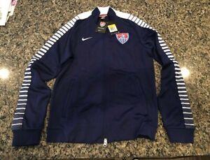 TEAM USA Soccer Jacket Blue SMALL NEW RARE