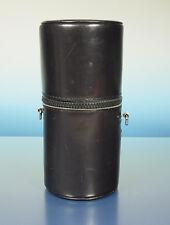 Minolta F3.5/50mm Objektivköcher Köcher Lens Case Etui H:15cm Ø7cm - (42111)