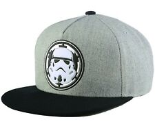 27498f60c5a NEW ERA 9Fifty Star Wars Hero Gray Heather 2 Storm Trooper Snapback Cap Men  Hat