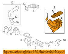 VW VOLKSWAGEN OEM 09-16 CC Air Cleaner Intake-Filter Box Housing 1K0129607AS