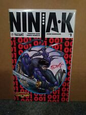 Ninjak #1 Legends Exclusive Signed by Sorah Suhng Amazing Spider-Man 300 Homage
