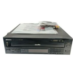 Pioneer Laserdisc CLD-2080 CD CDV LD Player Bundle Tested