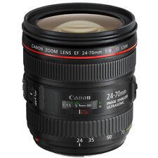 Canon EF 24-70mm F4L IS USM Standard Zoom Lens. In London