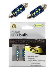 Ring Premium LED Bulbs 12v C5W 239 Ice White 6000k CANbus Error Free RW239CBLED