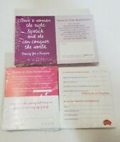 Business Advertisement Cards - Avon Representatives - 3 New Packs