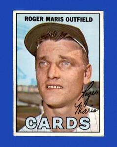 1967 Topps Set Break # 45 Roger Maris VG-VGEX *GMCARDS*