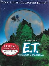 E.T. THE EXTRA-TERRESTIAL (2-DISC DVD SET) LIMITED COLLECTORS EDITION NEW!