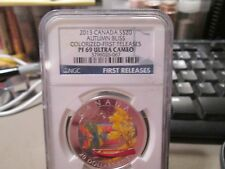 2013 CANADA $20 AUTUM BLISS COLORIZED FIRST RELEASES NGC PR69UC 067
